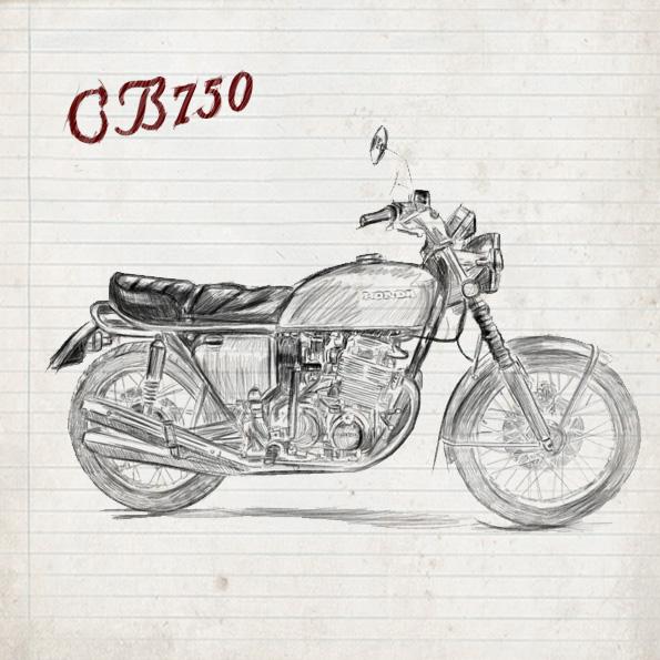 CB 750